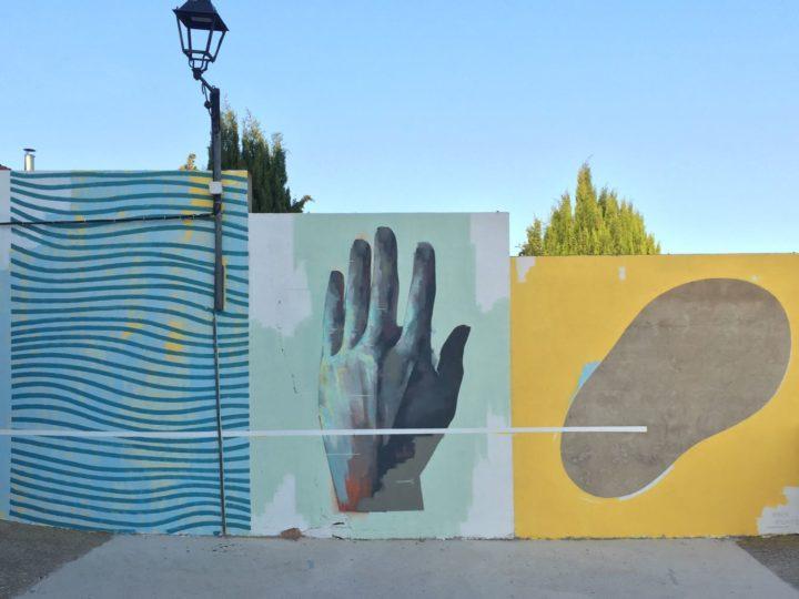 El arte urbano conmemora a Goya